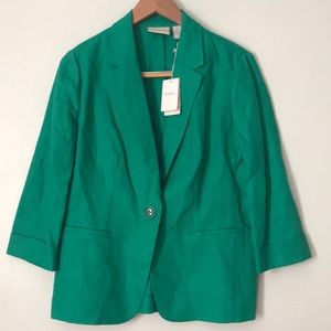 Linen blazer size medium